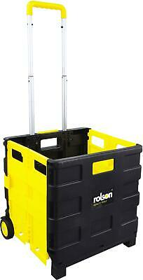 Rolson 25kg Folding Boot Cart Load Box Garage Equipment 380mm x 330mm x 360mm