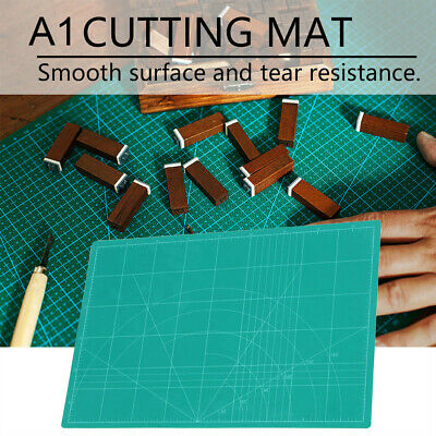 A1 PVC Self Healing Cutting Mat Craft Quilting Grid Lines Printed Board 4m