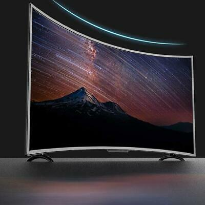 SMART TV 4K Televisore Ultra HD HDR 3000R Cinema Curvature grande de 32 pulgadas