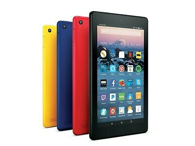 AMAZON Kindle Fire 7 Tablet With Alexa (9th Gen) 16GB - 2019 Latest Model - NEW