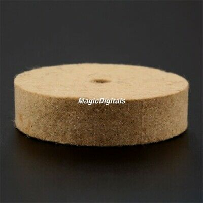 "1Pc 3"" Felt Wood Metal Polishing Wheel Buffer Durable Wool Buffing Polishers Pad"