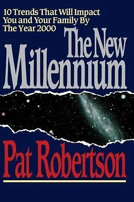 The New Millennium by Pat Robertson- Hardcover- Free Shipping