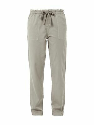Tommy Hilfiger Jogpants im Washed Out-Look Damen Hose Khaki Größe 36 38