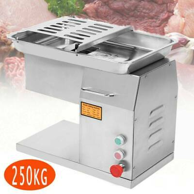 Electric Commercial 250KG Meat Cutting Cutter Machine Slicer Dicer + Blade