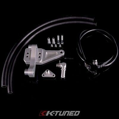 K-Tuned For Honda K-Series Power Steering Relocation Kit 05-06 Dc5 Pump K-Swap