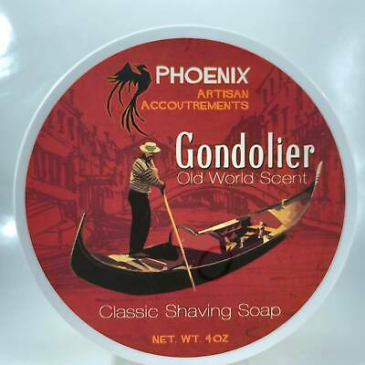Gondolier Shaving Soap - by Phoenix Artisan Accoutrements (Pre-Owned)