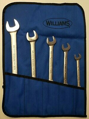 Williams Open End Wrench Set 5 Pcs