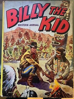 Billy The Kid. Western Annual.1955. SIGNED By Walt Howarth.
