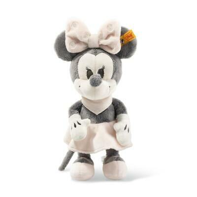 STEIFF Minnie Mouse EAN 290053 23cm grey pink white Plush baby gift New