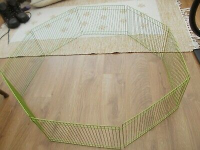 Small Folding Pet Playpen Enclosure Fence Hamster Gerbil Guinea Pig