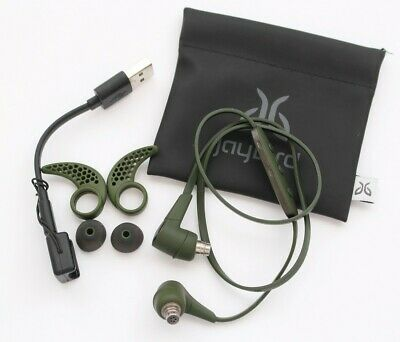 Jaybird X3 In-Ear Wireless Headphones Sweat-Proof Green 985-000584 WITH CHARGER