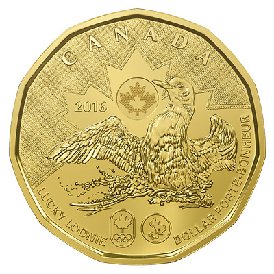 Canada 2016 Loonie / Olympic / Mint Sealed