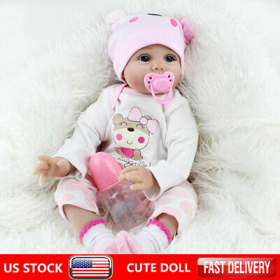 Reborn Dolls Real Baby Doll Realistic Silicone Vinyl Handmade Gifts Girl Dolls