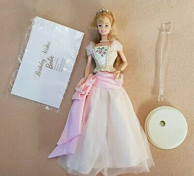 Vintage 90s Collector Birthday Wishes Barbie First Edition