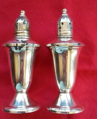 Duchin Creations Sterling Silver Salt & Pepper Shakers Pair