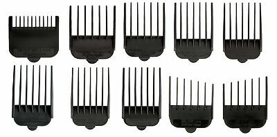 Animal Attachment Guide Comb 10-Pack Grooming Set for 's Show Pro Plus Iron H...