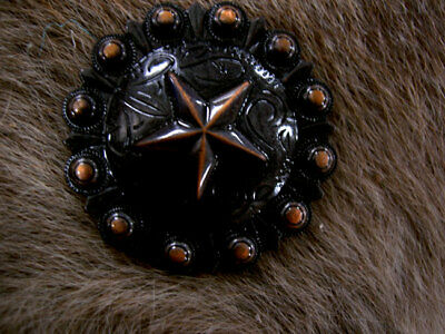 4 Conchos Rhinestone Horse Saddle Western  Berry CO425A