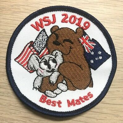 "World Scout Jamboree WSJ 2019 Badge - ""Best Mates"""