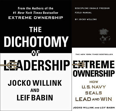 Jocko Willink Kit -Dichotomy + Extreme Ownership ++ 3 + Kit [P.DF - e.Pub]