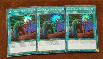 YuGiOh! | 3x Called By The Grave | Super Rare | GERMAN | NM | EXFO-ENSE2