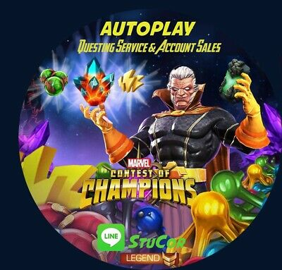 MARVEL CONTEST OF CHAMPIONS 1 FIGHT (USA. Story, Event Quests) AUTOPLAY MCOC