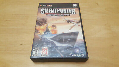 Silent Hunter: Wolves of the Pacific (PC, 2007) INCLUDES DISC & CASE