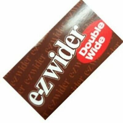 EZ Wider Double Wide Rolling Papers 50ct Bundle
