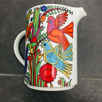 Villeroy & Boch ACAPULCO - 6 Inch Tall Pitcher - Blue Stamp