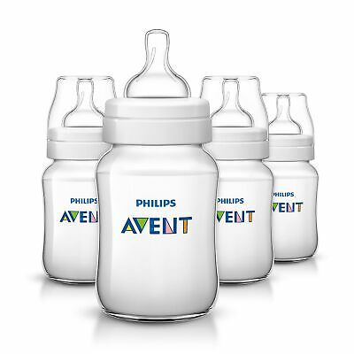 Avent Classic+ Baby Feeding Bottles – Pack of 4