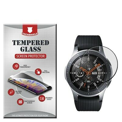 For Samsung Galaxy Watch 46mm Tempered Glass Screen Protector [Bubble Free]