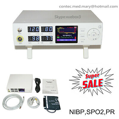 New Promotion ICU Vital Signs Patient Monitor NIBP SPO2 Pulse Rate CMS5000 CE