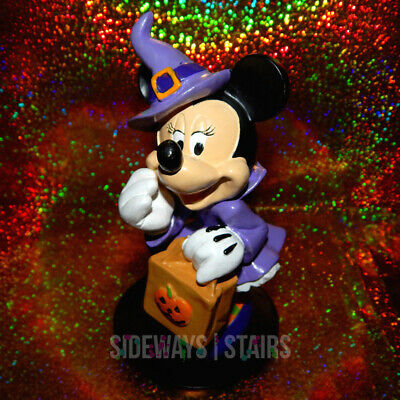 MINNIE MOUSE WITCH FIGURE Disney Halloween decoration garden statue cute 6.25""