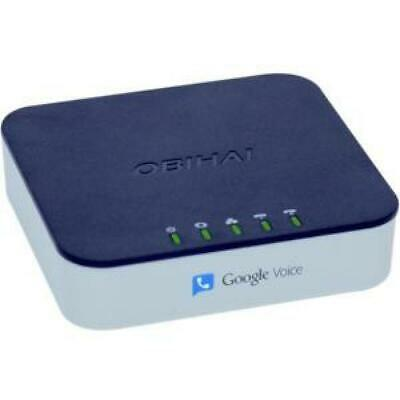 OBIHAI OBI202 VOIP Telephone Adapter with 2-Phone Ports, Router