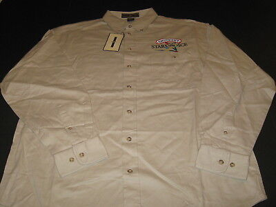 Smuckers STARS ON ICE Figure Skating Tour Embroidered Dress Shirt New NWT MEDIUM