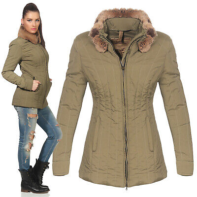 Matchless Ladies Transitional Jacket Stirling Military Green 120027