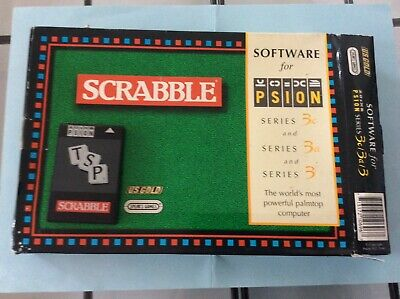 Psion series 3 Scrabble pack, boxed with manual