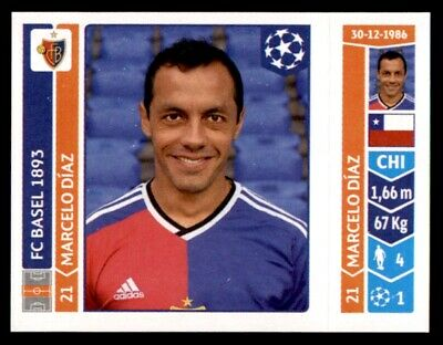 Panini Champions League 2010-2011 David Abraham FC Basel 1893 No 314