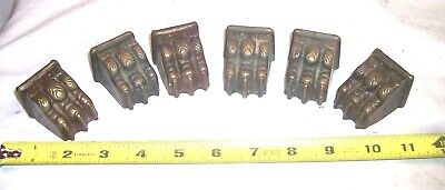 6 Matching Antique Claw Foot Casters In Great Shape