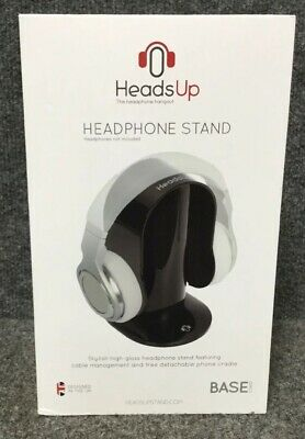 HeadsUp Base Stand Headphones Stand Black
