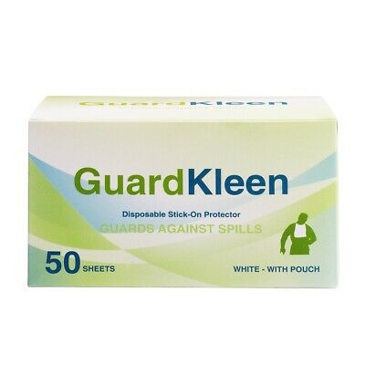 GuardKleen Disposable Stick-On Protectors - 50 Pack