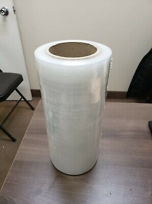 "10"" x 1000 ft Hand Pallet Shrink Wrap Plastic Stretch Packing Shipping Moving"