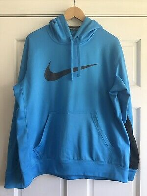 Size: Large Dark Grey Nike Mens Therma Fit Pullover Hoodie 860495-038