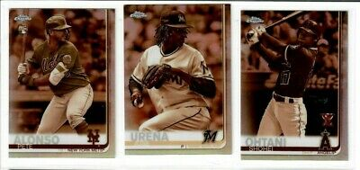 2019 Topps Chrome Baseball SEPIA REFRACTOR You Pick RC's Alonso Ohtani Betts ++