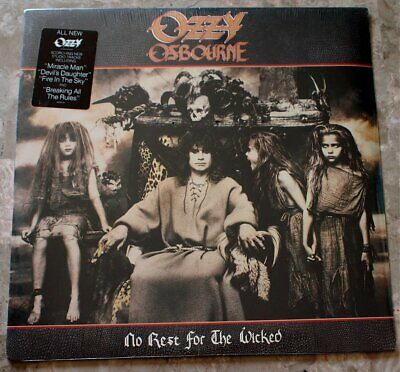 Ozzy Osbourne No Rest For The Wicked 1988 LP Vinyl S/S Sealed Original OZ 44245