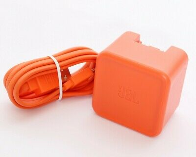 Authentic Genuine JBL F5V-2.3C-1U 5v 2.3A Wall Charger Adapter w/ USB Cable