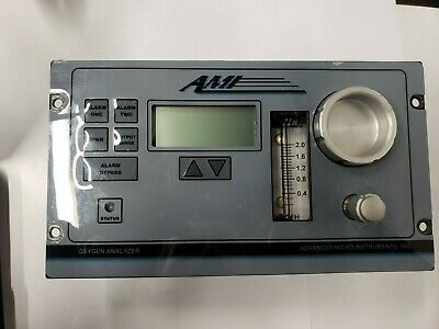 AMI Trace Oxygen Analyzer Meter PPM and % Range 2001LC LCD