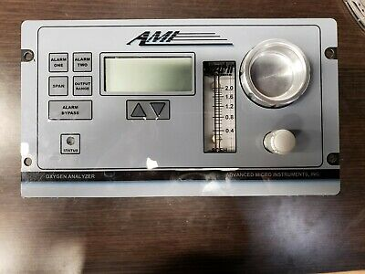 AMI Trace Oxygen Analyzer Meter PPM and % Range 2001RSP LCD