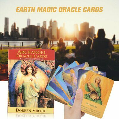 Earth Magic Archangel Oracle Read Fate Tarot Cards Beginner Set x48 English Game