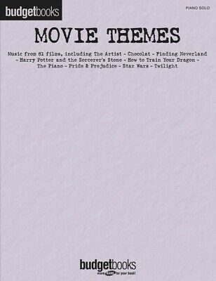 The Best Movie Themes Ever Sheet Music Piano Solo SongBook NEW 000194424