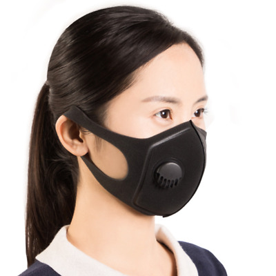 Fashion N95 PM2.5 Cotton Mask Anti Flu Dust Allergy Respirator with Air Valve